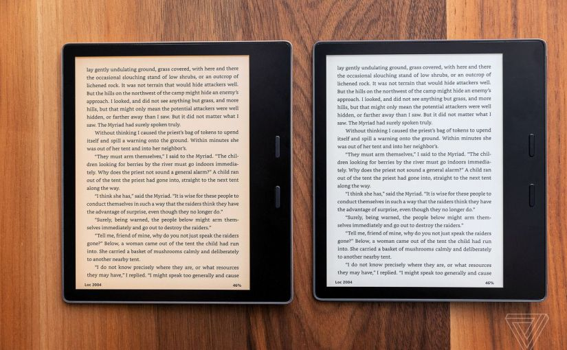 Kindle Oasis: A Review