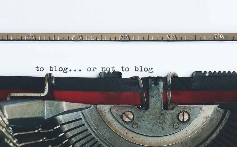 Here's Why You Should Blog